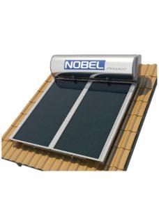 NOBEL Apollon GLASS 320lt/4.0m² Τριπλής Ενέργειας Κεραμοσκεπή