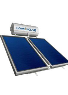 COSMOSOLAR INOX 200lt/4.10m² ΚΑΘ Διπλ.Ενέργ.