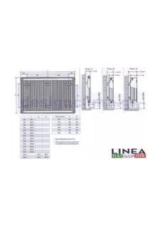 Θερμαντικά Σώματα Πάνελ LINEA 11/900/1000 Εξ.Βρόγχου