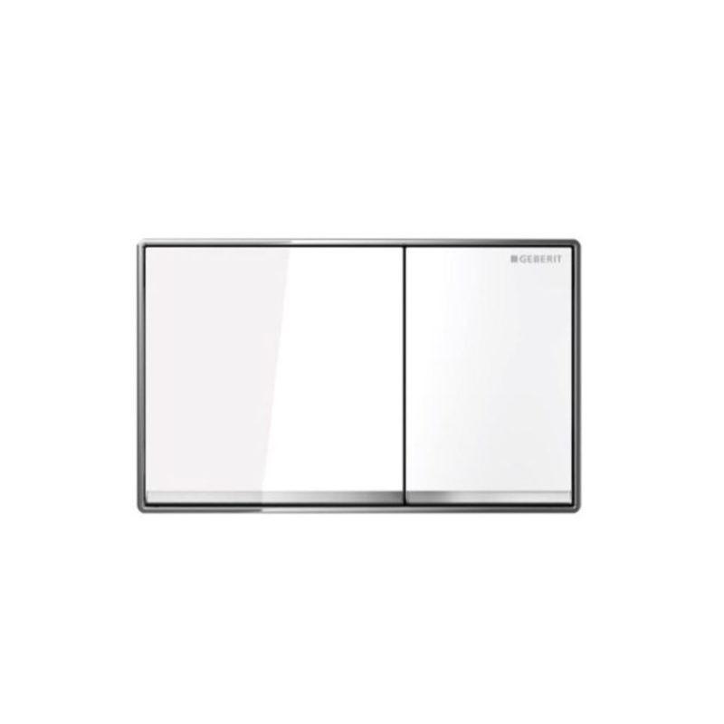 Πλακέτα GEBERIT OMEGA 60 Λευκό γυαλί