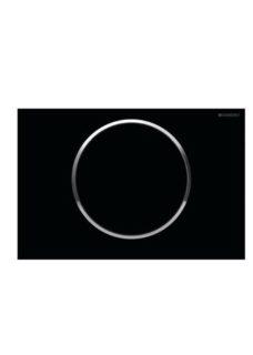 Πλακέτα GEBERIT SIGMA 10 Μαύρο-Γυαλιστερό-Μαύρο
