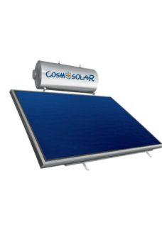 Cosmosolar Glass EGL 160lt/2.3m² ΟΡΙΖ. Τριπλ.Ενέργ.