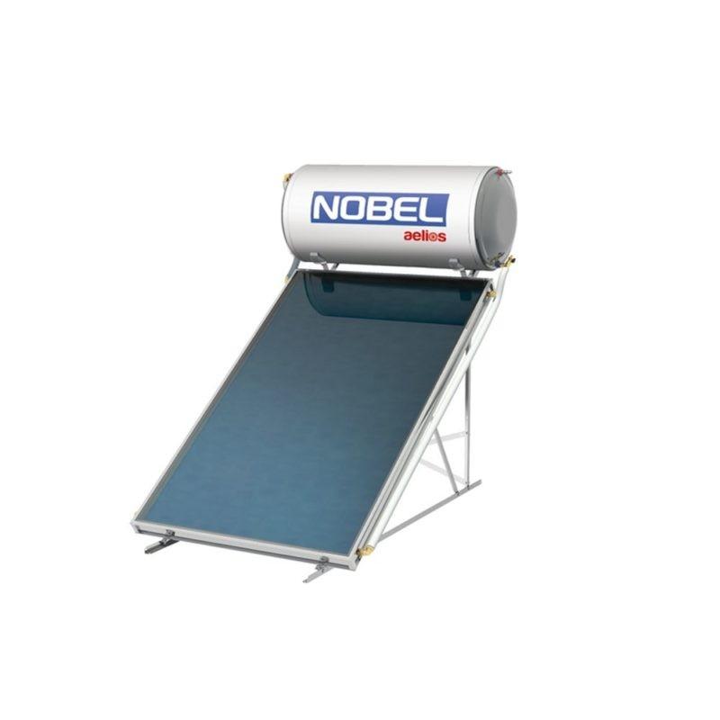 NOBEL Aelios CUS GLASS 120lt/2.0m² Τριπλής Ενέργειας Ταράτσα