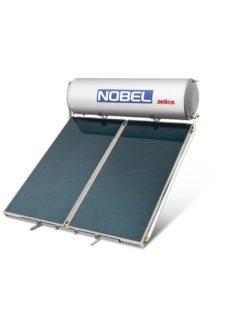 NOBEL Aelios CUS Glass 200lt/3.0m² Διπλής Ενέργειας Ταράτσα