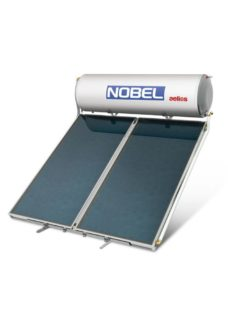 NOBEL Aelios ALS Glass 200lt/2.6m² Τριπλής Ενέργειας Ταράτσα