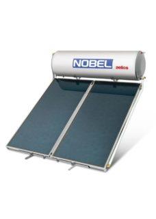 NOBEL Aelios ALS Glass 160lt/2.6m² Διπλής Ενέργειας Ταράτσα