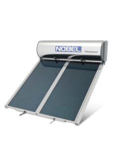 NOBEL Apollon Glass 160lt/2.0m² Τριπλής Ενέργειας Ταράτσα