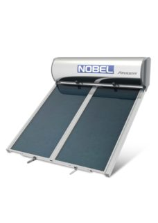 NOBEL Apollon Glass 160lt/2.0m² Διπλής Ενέργειας Ταράτσα