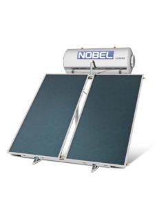 NOBEL Classic Glass 160lt/3.0m² Τριπλής Ενέργειας με Αντλία Θερμότητας Ταράτσα