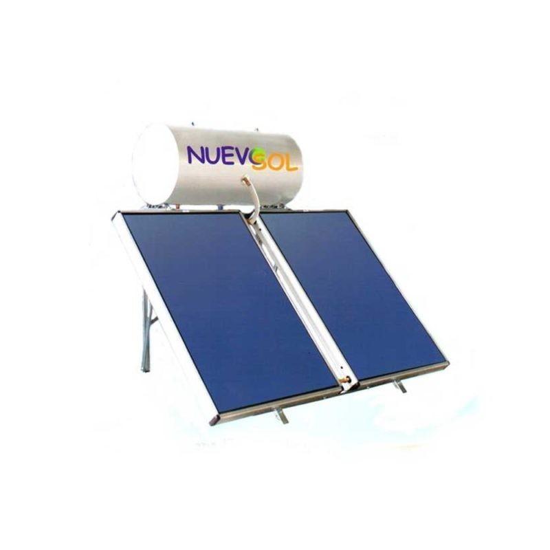NuevoSol GLASS με Επιλλεκτικό Συλλέκτη 200 lt 4.00 m2 Τριπ.Ενέργειας