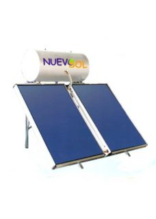 NuevoSol GLASS με Επιλλεκτικό Συλλέκτη 170 lt 2.52 m2 Τριπ.Ενέργειας